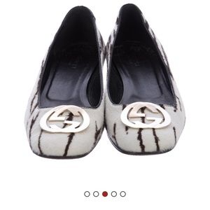 Gucci flats from TheRealReal- only wore twice